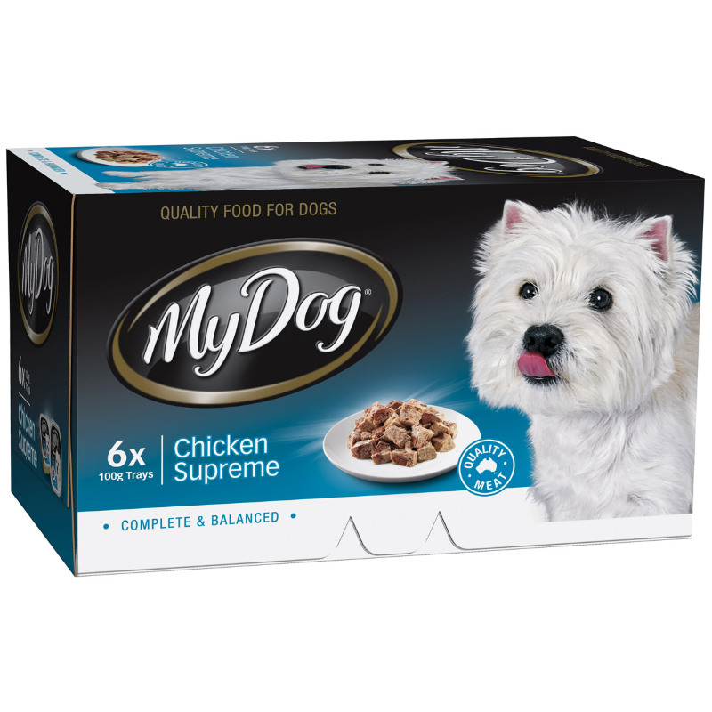 My Dog Chef Select Chicken Supreme - Multipack 6x100gm