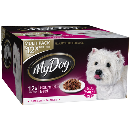 My Dog Gourmet Beef - Multipack 12x100gm