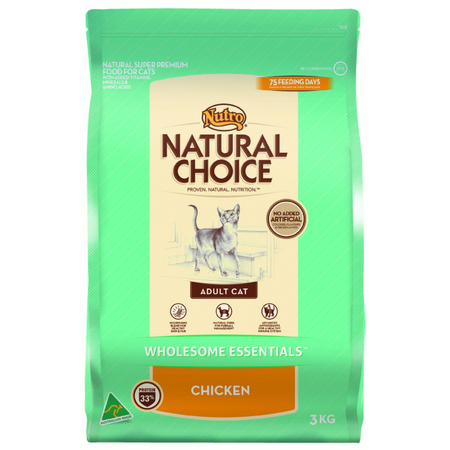 NUTRO Adult Cat Wholesome Essentials Chicken - 3kg
