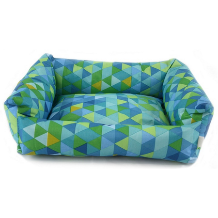 Nibble & Squeek Small Animal Bed Blue Large