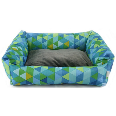 Nibble & Squeek Small Animal Bed Blue Small