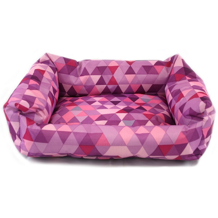 Nibble & Squeek Small Animal Bed Pink Large