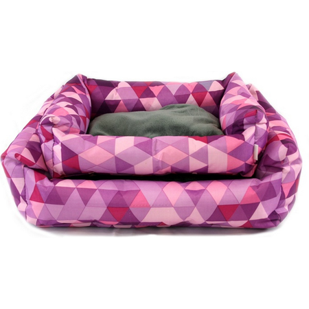 Nibble & Squeek Small Animal Bed Pink Small