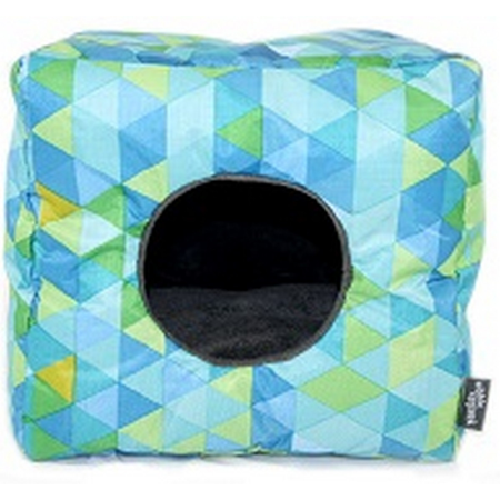 Nibble & Squeek Small Animal Cube Blue