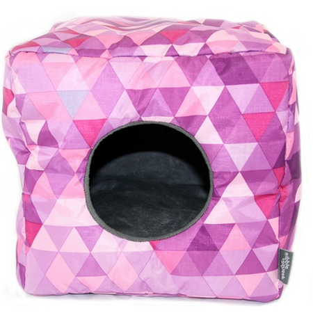 Nibble & Squeek Small Animal Cube Pink
