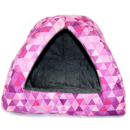 Nibble & Squeek Small Animal Igloo Pink