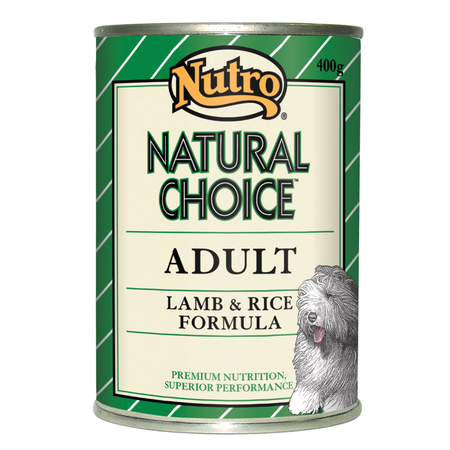 Nutro Natural Choice Adult Lamb Rice and Oatmeal 400gm