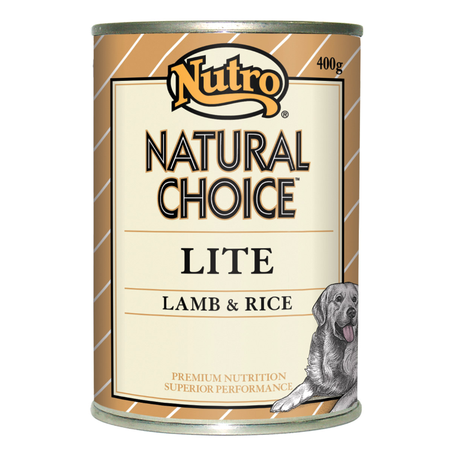 Nutro Natural Choice Adult Lite Lamb and Rice 400gm