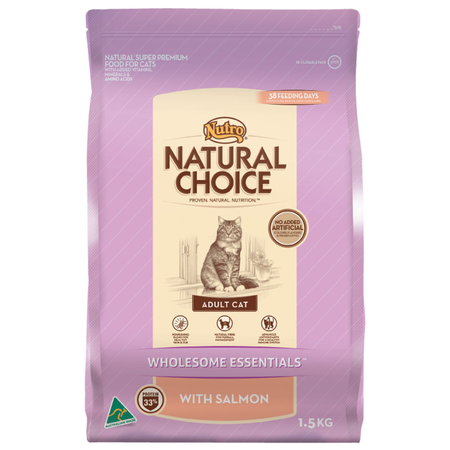 Nutro Natural Choice Adult Salmon Dry Cat Food 1.5kg