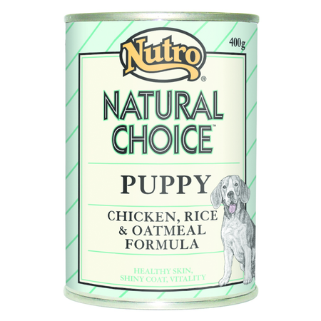 Nutro Natural Choice Puppy Chicken Rice and Oatmeal 400gm