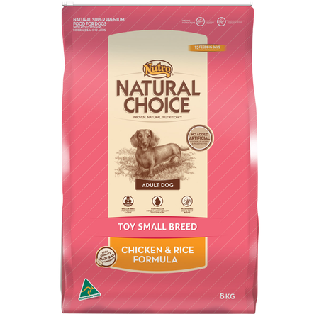 Nutro Natural Choice Small & Toy Breed Chicken & Rice - 8kg