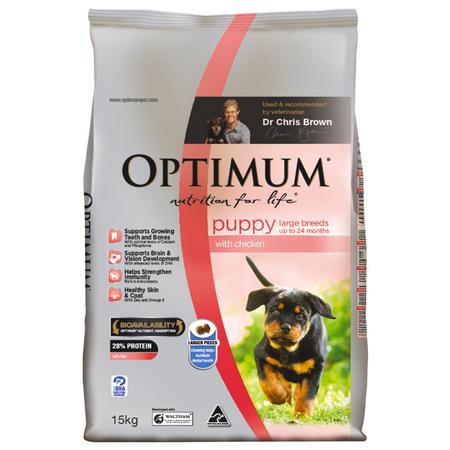 OPTIMUM Puppy Large Breed Chicken 15kg