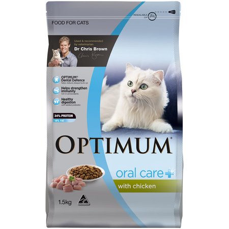 Optimum Cat Oral Care with Chicken 1.5kg