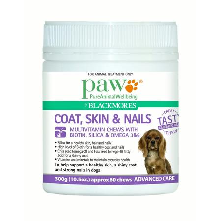 PAW Coat, Skin & Nails Multivitamin Chews