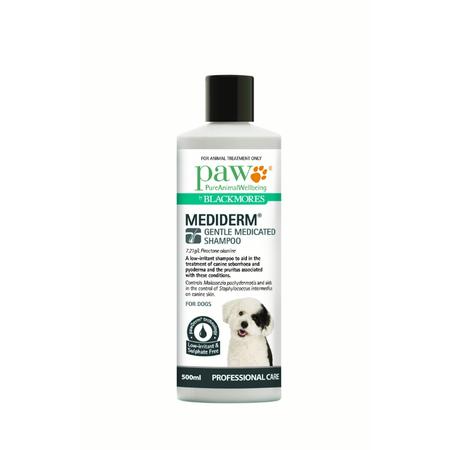 PAW MediDerm Gentle Medicated Shampoo - 500ml