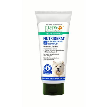 PAW NutriDerm Hypoallergenic and Replenishing  Dog Shampoo  200ml