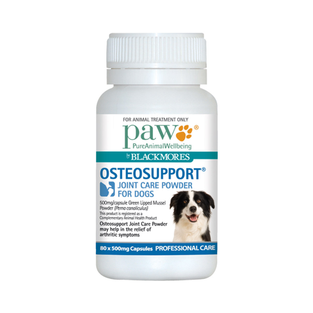 PAW Osteosupport Joint Care Capsules for Dogs  80pk
