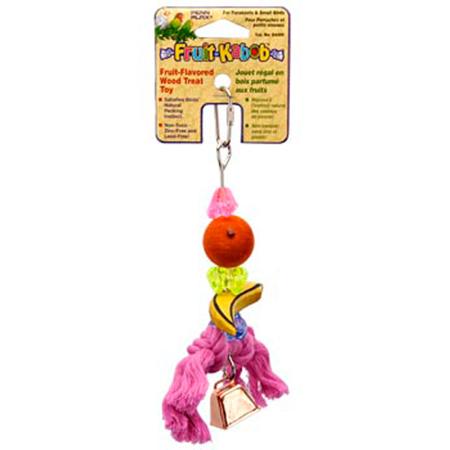 Parrot Fruit Kabob Bird Toy Small
