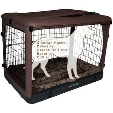 Pet Gear Brown Crate large