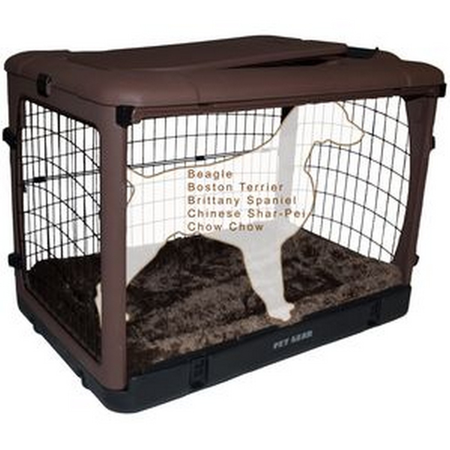 Pet Gear Brown Crate medium