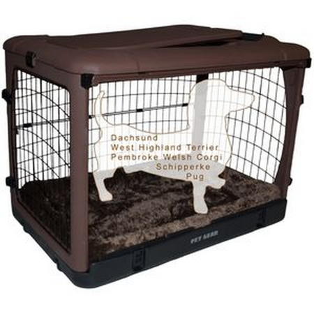 Pet Gear Brown Crate small
