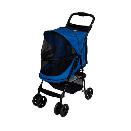 Pet Gear Happy Trails Dog Pram Blue 61Lx30Wx52.5Hcm (Interior Dimensions)