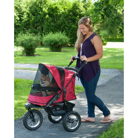 Pet Gear Jogger No Zip Pet Stroller - Rugged Red