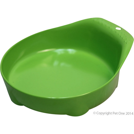 Pet One Small Animal Feeding Bowl Lime Green - 210ml