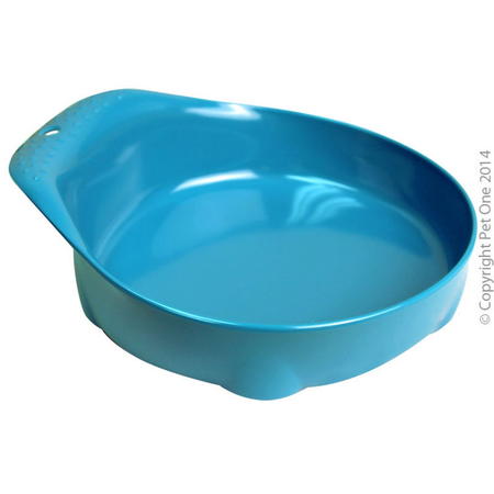 Pet One Securable Feeding Bowl for Small Animals Blue 210ml