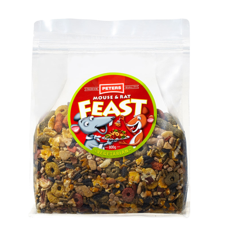 Peters Mouse and Rat Vegetarian Feast - 800gm