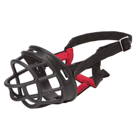 Petlife Baskerville Dog Muzzle Black Medium
