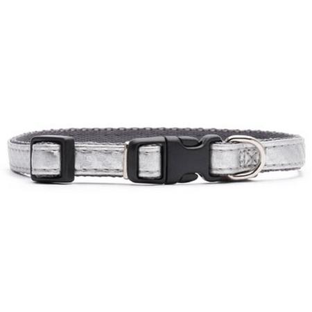 Petlife Fashion Puppy Collar Platinum