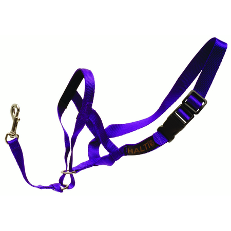 Petlife Halti Non Pull Head Collar fo Dogs Purple Small