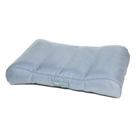 Petlife Lounger Chew Resistant Dog Bed Grey Medium (105x70x10cm)