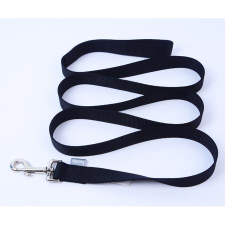 Petlife Nylon Dog Lead Black 120cm