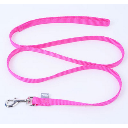 Petlife Nylon Dog Lead Pink 120cm