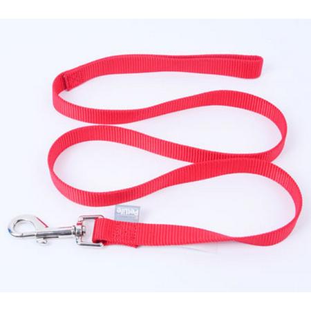 Petlife Nylon Dog Lead Red 120cm
