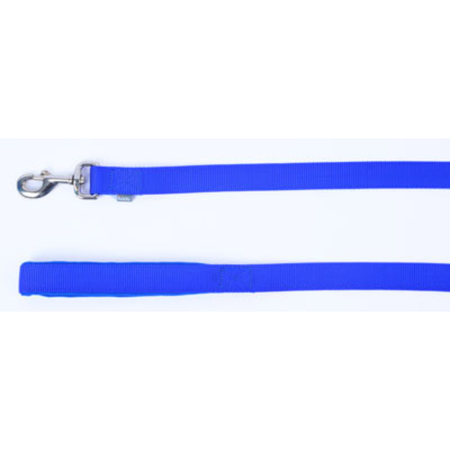 Petlife Nylon Dog Lead with Padded Handle Blue 120cm