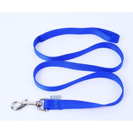 Petlife Nylon Lead Blue - 20mmx120cm