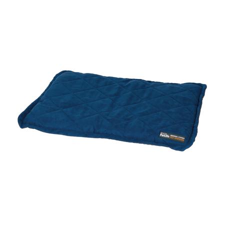 Petlife Self Warming Throw Mat Dog Bed Blue