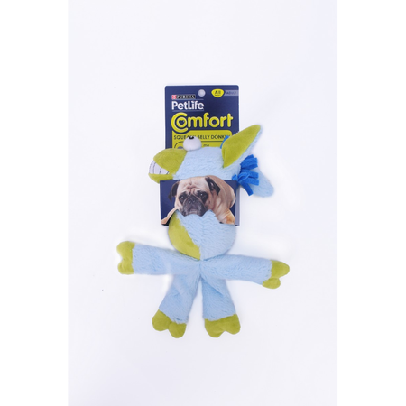 Petlife Squeaky Belly Donkey