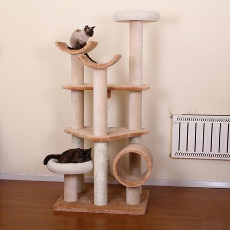 Petpals Cat Scratcher Everest Ultimate multi-level Carpet Sisal Tower