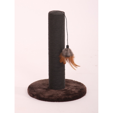 Petpals Cat Scratcher Paper Rope with Feather Teaser