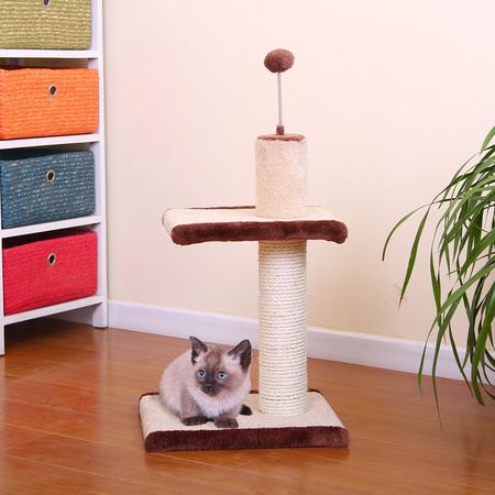 Petpals Cat Scratcher Sisal with teaser