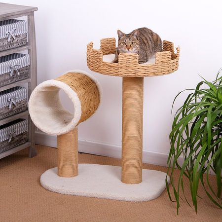 Petpals Cat Scratcher with tunnel & Rest Post