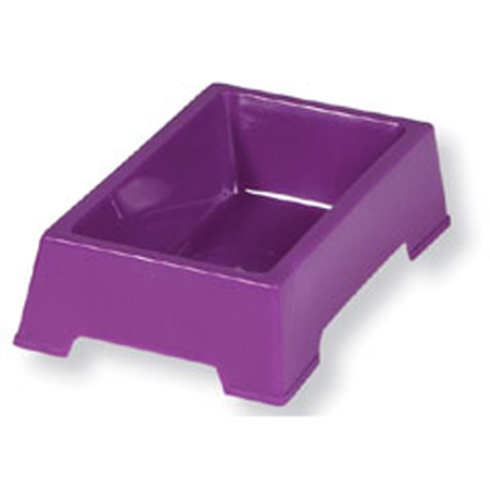 Pets Pacific Feed and Water Dish - Non Tip