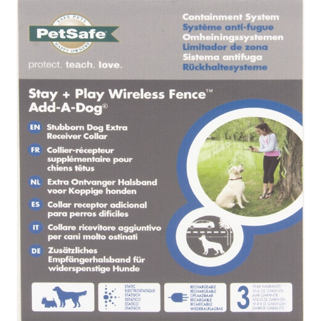 Petsafe Extra Collar for Stay & Play Wireless Fence Stubborn Dog