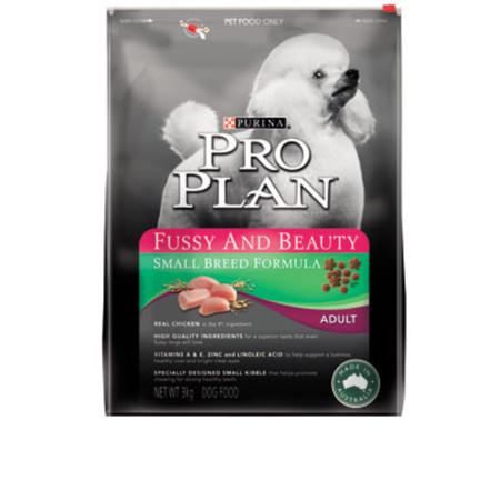 Pro Plan Adult Small Breed Fussy/Beauty 3kg