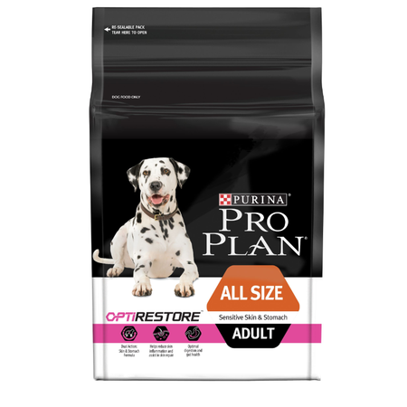 Pro Plan All Sizes Adult Sensitive Skin & Stomach with Optirestore