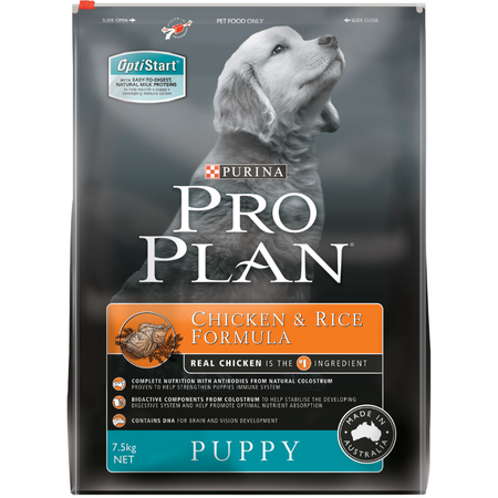 Pro Plan Puppy Chicken and Rice Dry Puppy Food  7.5kg